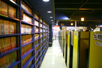 Pratique : les cafés manga au Japon (ou Manga Kissa)