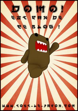 Domo-kun, le nouveau monstre gentil japonais !