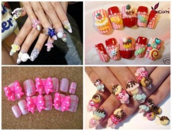 kawaii-nail-art