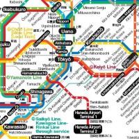 Pratique : les Plans des transports en communs à Tokyo