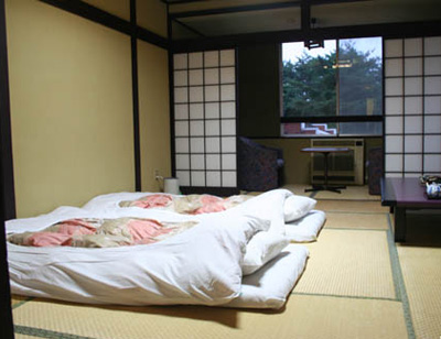 Quand les japonais d couvrent la chambre de leur for Chambre japonaise moderne