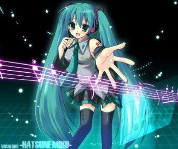 Hatsune Miku, la star des Vocaloid (chanteuses virtuelles) !