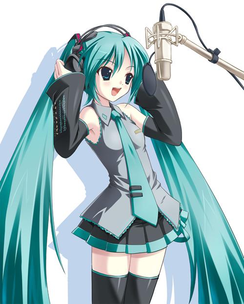 Vocaloid Hatsuna Miku Hatsunemiku-chante