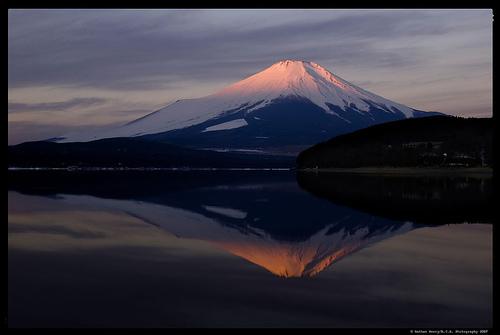 Le Mont Fuji, le volcan symbole du Japon