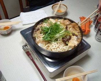 Cuisine japonaise recette du sukiyaki blog tout le japon for Apprendre la cuisine japonaise
