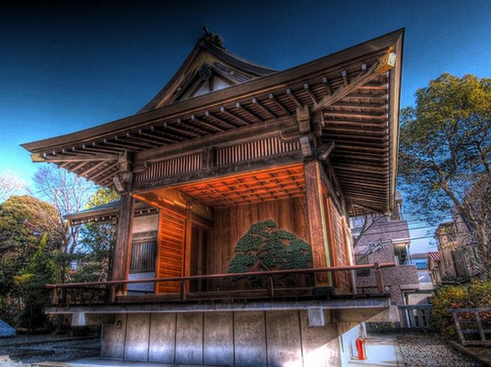 Dessin Temple Japonais