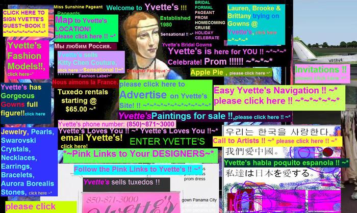 Les pires sites du Web (worst websites ever) !