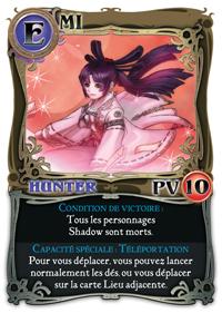 Shadow Hunters, jeu de plateau gothico-manga